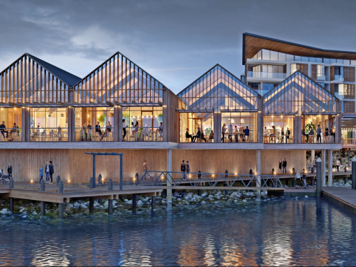Electrical Fitout for Shell Cove Waterfront Retail Centre